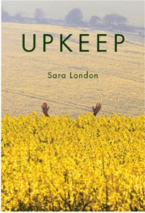 cover of Upkeep poetry collection by Sara London