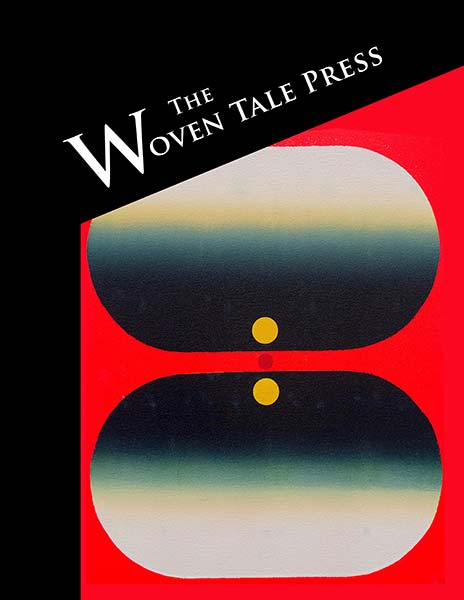 Literary and Fine Art Magazine Cover of Vol. VIII #6 issue of The Woven Tale Press