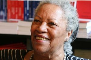 Headshot of writer Toni Morrison