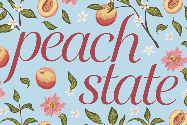 "Cover of ""Peach State"" by Adrienne Su"