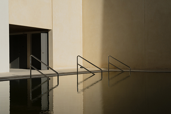 photo of pool railings by Natalie Christensen called No Good Options