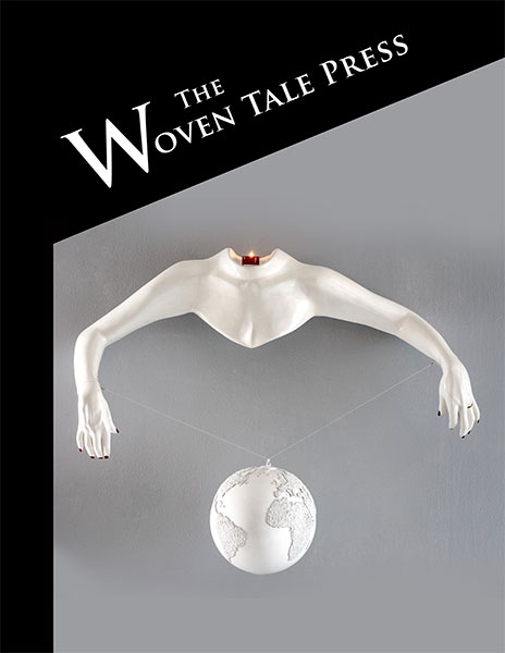 WTP cover of Vol. IX #7 of sculpture against grey background